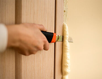 Как снять монтажную пену в домашних условиях 467