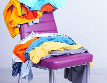 Как быстро высушить футболку (после стирки)