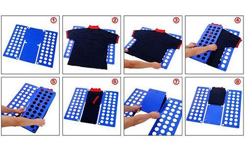 Свернуть футболку поможет картон