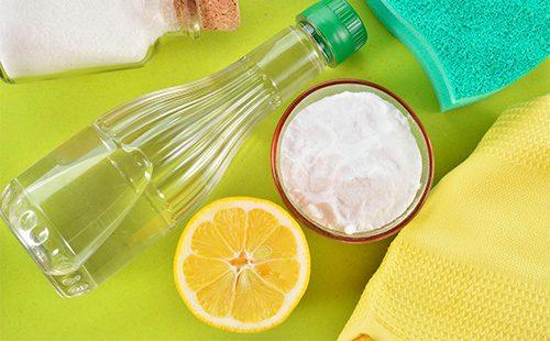 Сода, лимон и уксус