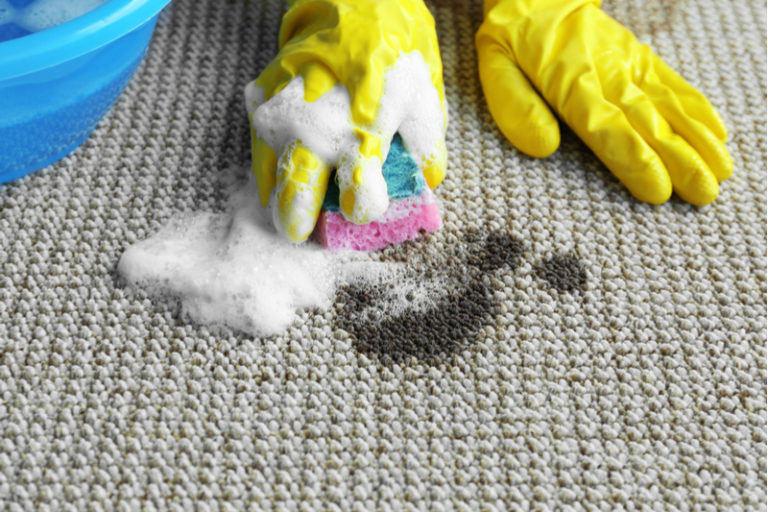 Йод на ковре