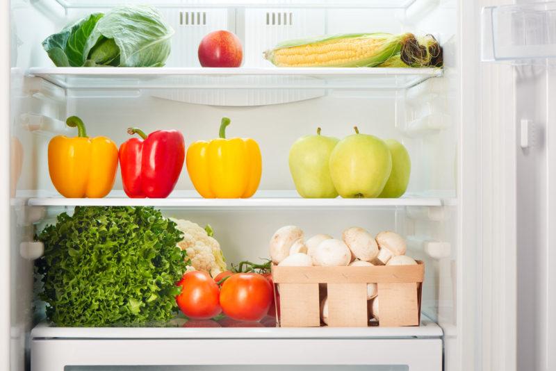 Грибы в холодильнике