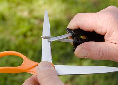 Наточить ножницы в домашних условиях 603